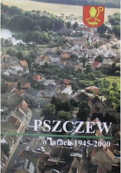 Pszczew w latach 1945 do 2000