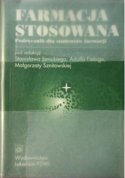 Farmacja stosowana podręcznik dla studentów faramacji
