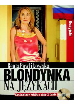 Blondynka na językach Rosyjski plus płyta CD