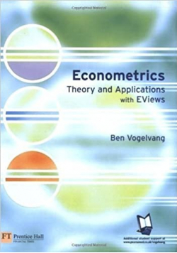 Econometrics Theory and applications with Eviews