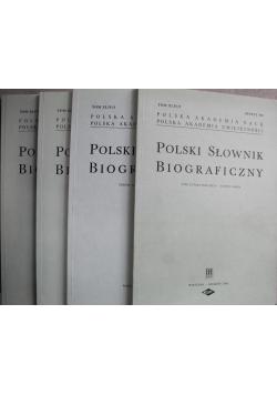 Polski słownik biograficzny Tom XLIV 4 Zeszyty