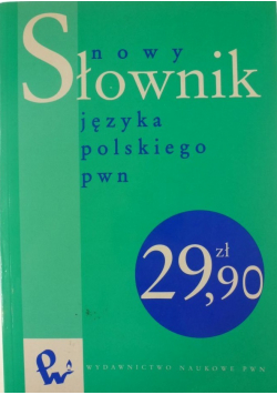 Nowy słownik języka polskiego PWN