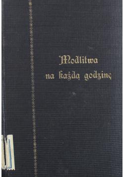 Modlitwa na każdą godzinę 1931 r