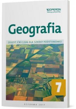 Geografia SP 7 Zeszyt ćwiczeń OPERON