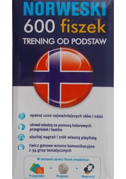 Norweski 600 fiszek Trening od podstaw