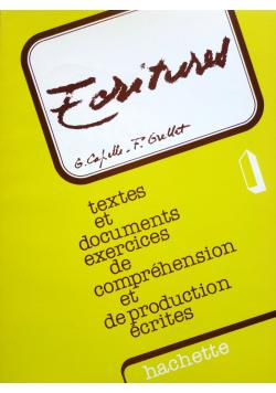 Textes et documents exercises de comprehension et de production ecrites