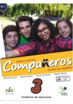 Companeros 3 ćwiczenia + licencia digital