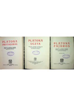 Protagoras / Uczta / Fajdros ok 1923 r.