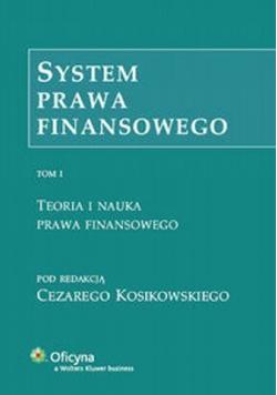 System Prawa Finansowego Tom I
