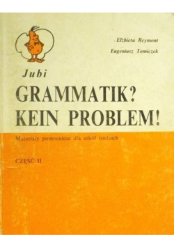 Gramatik Kein Problem Część II