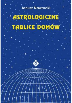 Astrologiczne tablice domów w.2020
