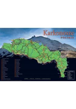 Mapa Zdrapka - Karkonosze polskie