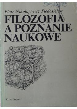 Filozofia a poznanie naukowe
