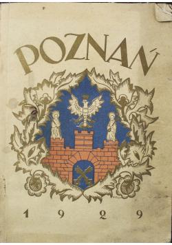 Przewodnik po Poznaniu 1929 r Wersja kieszonkowa