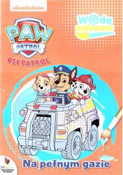 Psi Patrol. Wodą malowane 5 Na pełnym gazie