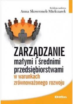 Zarządzanie małymi i średnimi przedsiębiorstwami..