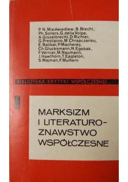 Marksizm i literaturoznawstwo współczesne