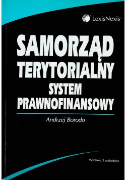 Samorząd terytorialny System prawnofinansowy