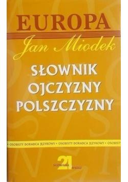 Słownik ojczyzny polszczyzny autograf Miodka plus autograf