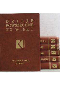 Dzieje powszechne XX wieku 6 tomów