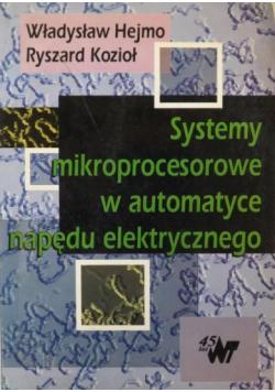 Systemy mikroprocesorowe w automatyce napędu elektrycznego