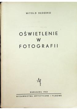 Oświetlenie w fotografii