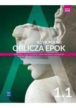 J polski LO Oblicza epok 1 1 w 2019 WSiP