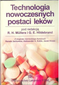 Technologia nowoczesnych postaci leków