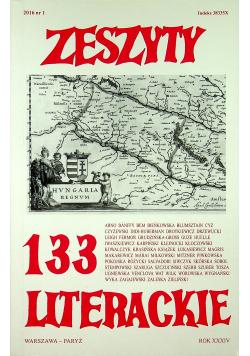 Zeszyty literackie 133