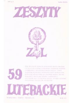 Zeszyty literackie 59 3/1997