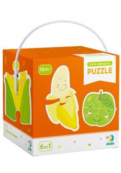 Puzzle 2-3-4 Owoce i warzywa