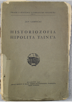Historiozofia Hipolita Taine'a