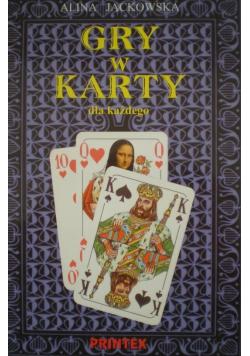 Gry w karty dla każdego