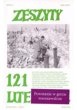 Zeszyty literackie 121 1/2013