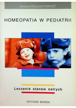 Homeopatia w pediatrii