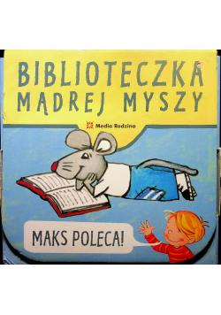 Biblioteczka Mądrej Myszy Maks poleca