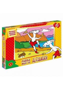 Puzzle 20 - MAXI Koziołek Matołek ALEX