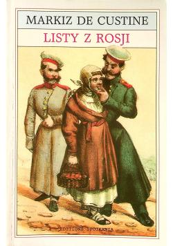 Listy z Rosji