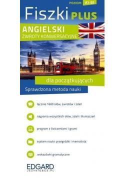 Angielski Fiszki PLUS Zwroty konwersacyjne dla początkujących