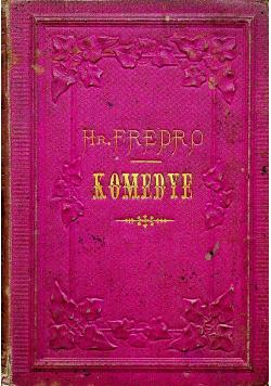 Komedye Tom IV 1871 r.