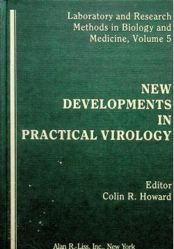 New developments in practical virology