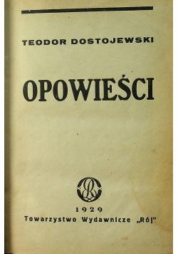 Teodor Dostojewski Opowieści 1929 r
