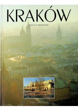Kraków pejzaż w miniaturze