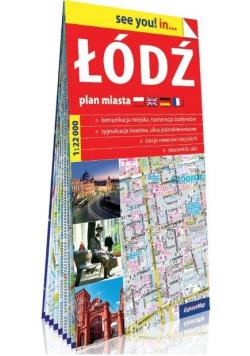 See you! in... Łódź 1:22 000 plan miasta