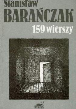 159 wierszy Barańczaka