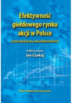 Efektywność giełdowego rynku akcji w Polsce