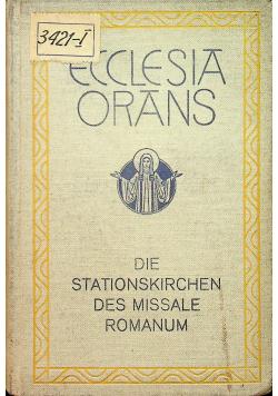 Ecclesia Orans 1926 r