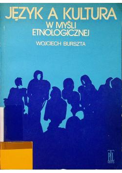 Język a kultura w myśli etnologicznej