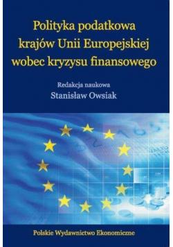 Polityka podatkowa krajów UE wobec kryzysu finans.