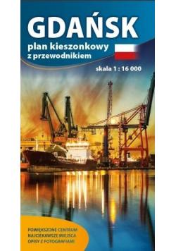 Plan kieszonkowy z przewod. - Gdańsk 1:16 000
